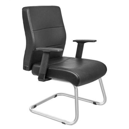 siyah bekleme sandalyesi