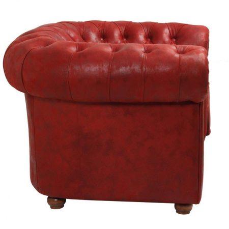 tekli kırmızı kanape