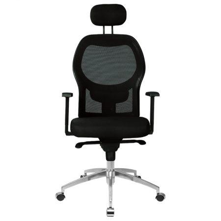 siyah makam sandalye