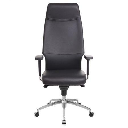 siyah deri makam sandalye